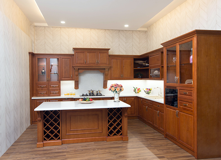 Không gian nội thất bếp