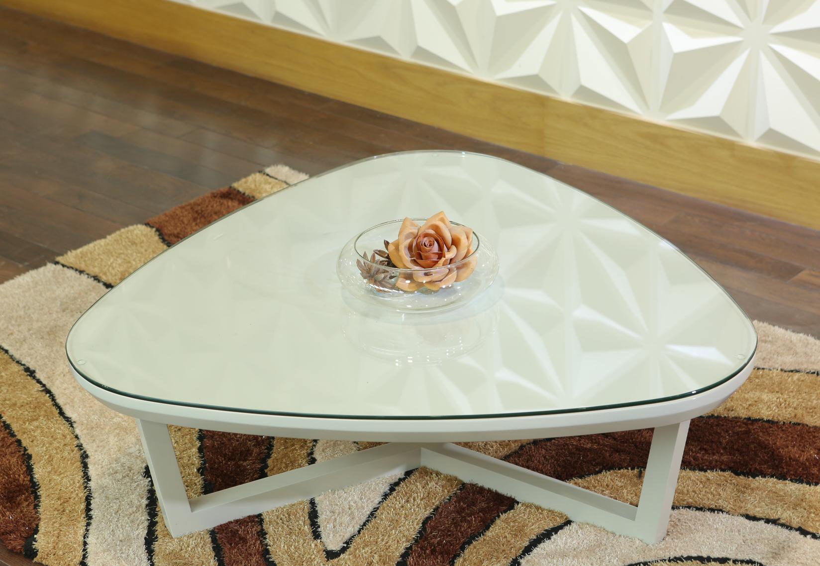 Bàn trà sofa hình tam giác
